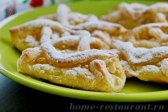 слойки с яблоками фото 15