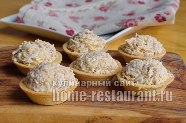 салат из печени трески для тарталеток рецепты с фото
