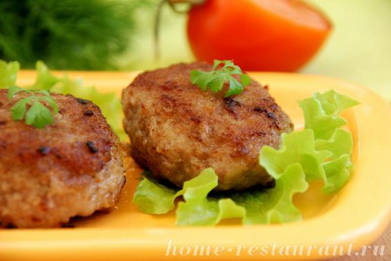 котлеты из курицы с грибами рецепт с фото
