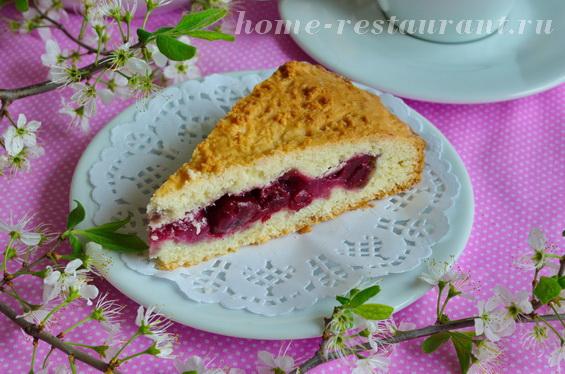 Вишневый пирог «Пять минут до лета»