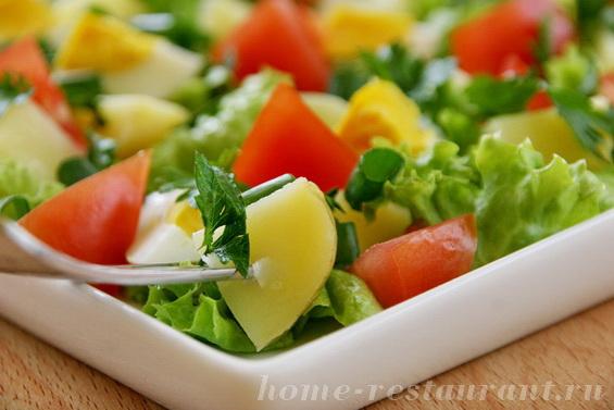 салат с молодой картошкой фото 12