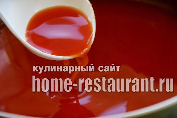 Домашний кетчуп на зиму «Помидорный»_05