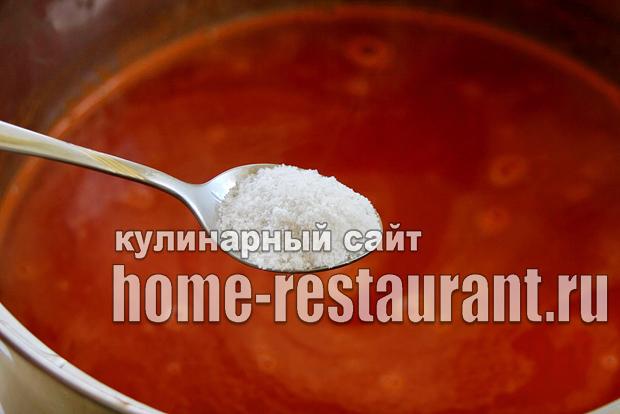 Домашний кетчуп на зиму «Помидорный»_08
