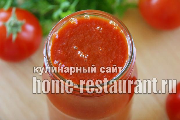 Домашний кетчуп на зиму «Помидорный»_09