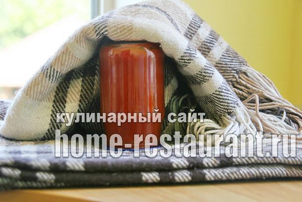 Домашний кетчуп на зиму «Помидорный»_10