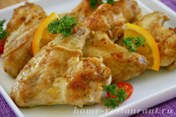 Куриные крылышки с апельсином фото 17 - копия