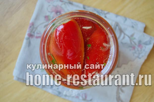 Перец, фаршированный капустой на зиму_09