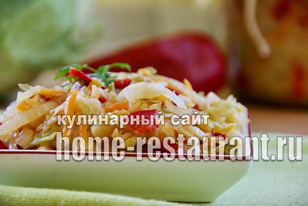 Салат из капусты на зиму «Рыжик»_04