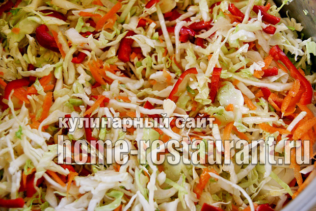 Салат из капусты на зиму «Рыжик»_06
