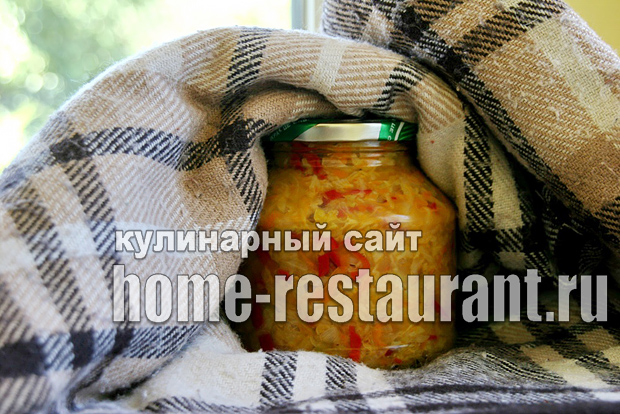 Салат из капусты на зиму «Рыжик»_10