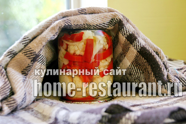 Цветная капуста с перцем фото 8
