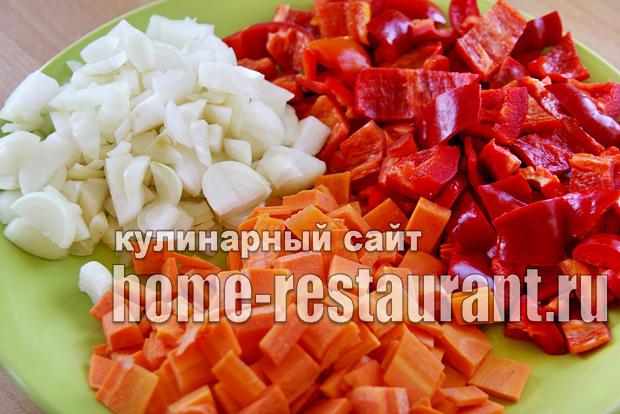 Вкусный салат с фасолью на зиму из помидоров_3
