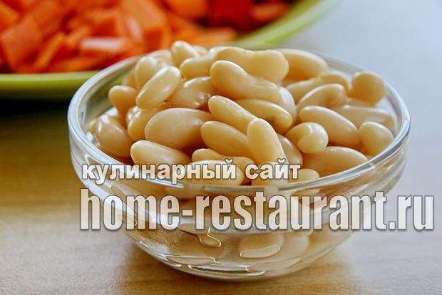 Вкусный салат с фасолью на зиму из помидоров_4