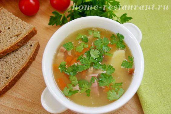 гороховый суп с копченостями фото 11