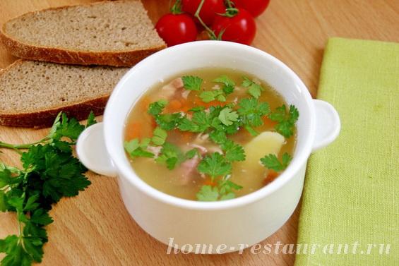 гороховый суп с копченостями фото 14