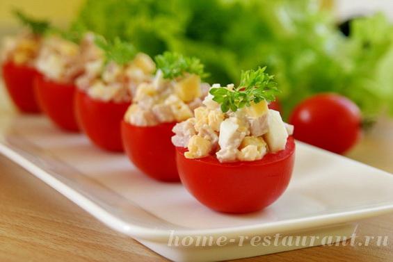 помидоры с ветчиной и сыром фото 8