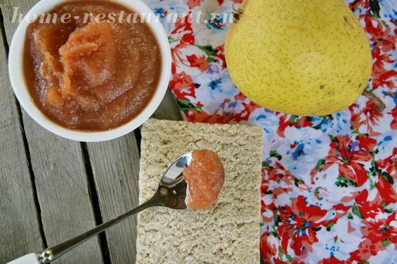 Грушевое повидло с апельсином фото 12