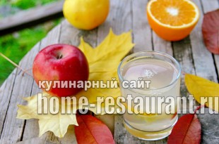 Компот из яблок на зиму с апельсином фото_06