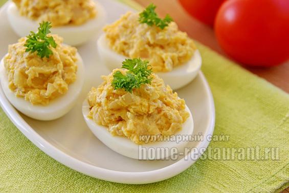 Вкусные блюда из яиц