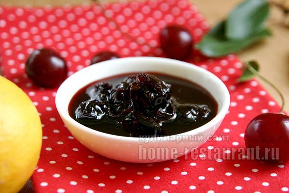 варенье из вишни: простой рецепт