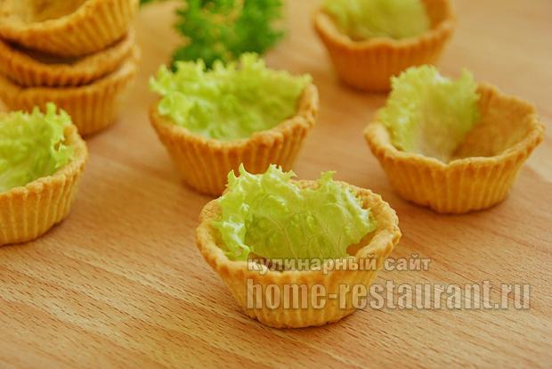 рецепт салата для тарталетки фото