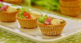 тарталетки с красной рыбой и сырным паштетом фото 12