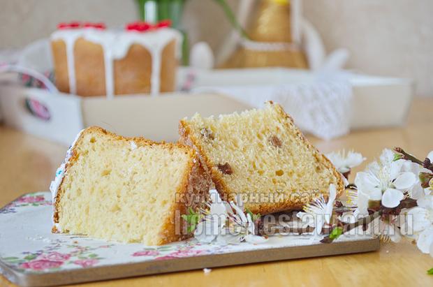 Творожный пасхальный кулич- рецепт с фото_26