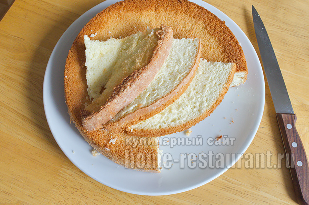 Рецепт классического бисквита для торта