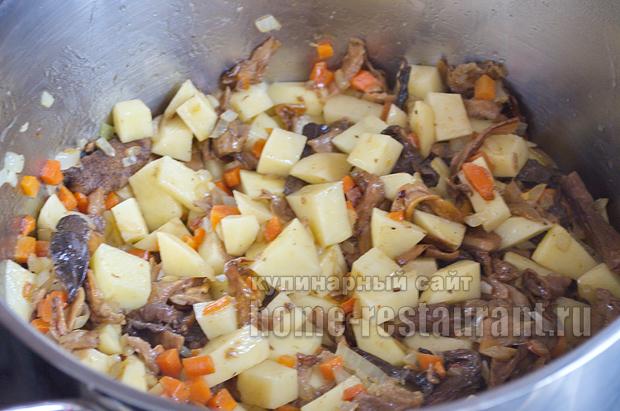 суп из белых грибов сушеных рецепт с сыром
