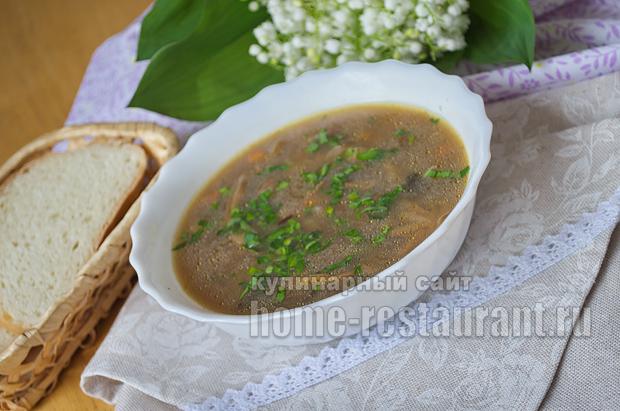 Грибной суп из сушеных белых грибов_11