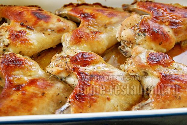 Соусы для курицы в духовке с корочкой рецепт с фото