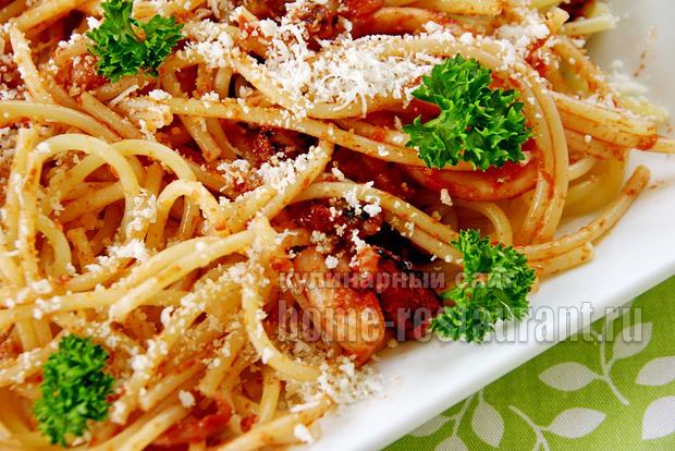 спагетти с морепродуктами фото 11