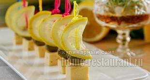 Канапе с сыром и оливками фото 9