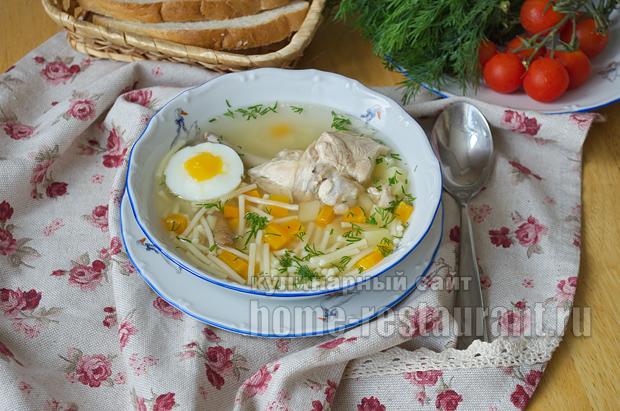 куриный суп пюре с картошкой рецепт с фото