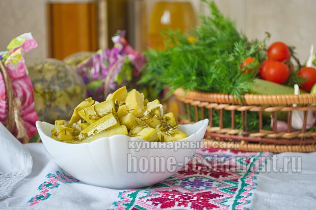 Пикантные кабачки на зиму с горчицей_02