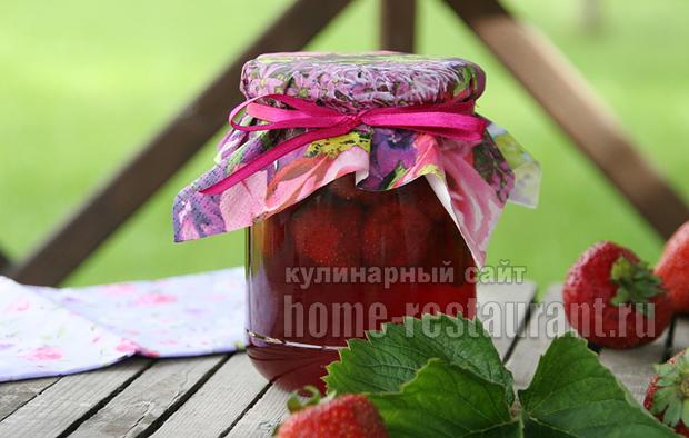 Варенье из клубники на сковороде фото 10