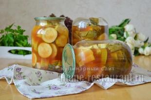 консервирование кабачков на зиму рецепты с фото_10