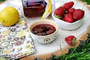 варенье клубничное с ванилином и лимоном фото 13