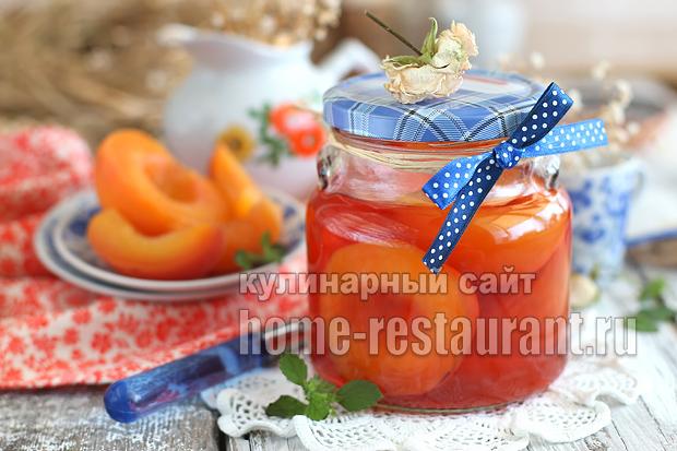 Персики в сиропе на зиму рецепт с фото_01