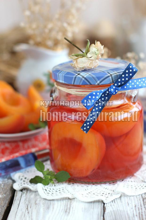 Персики в сиропе на зиму рецепт с фото_03