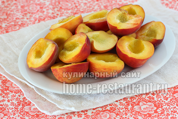 Персики в сиропе на зиму рецепт с фото_05