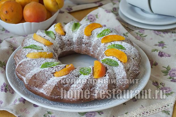 Шоколадный кекс- рецепт с фото пошагово _10