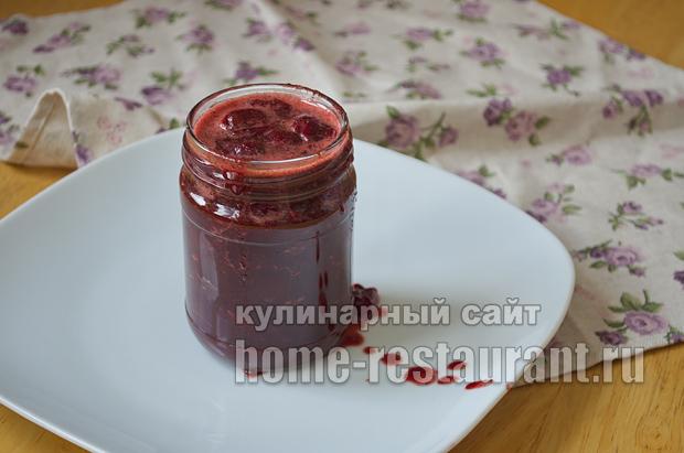 Вишневое варенье с шоколадом и коньяком_11