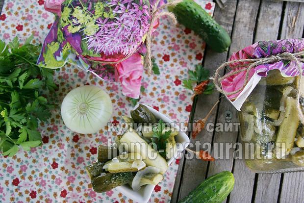 Зимний салат из огурцов «Дамские пальчики»_01