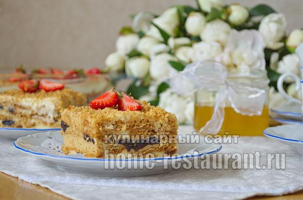 Торт медовик классический фото