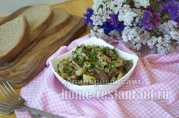 Как жарить белые грибы рецепт с фото пошагово _11