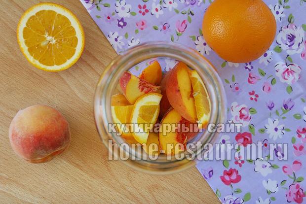 Компот из персиков фото 2
