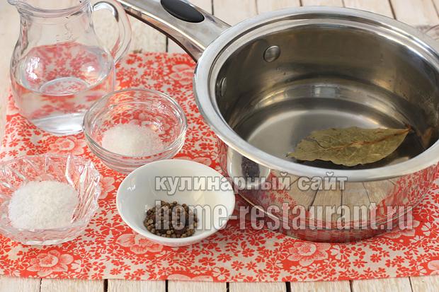 Маринованная селедка в домашних условиях в соевом соусе_1