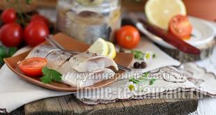 Маринованная селедка в домашних условиях в соевом соусе_2