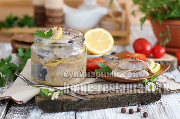Маринованная селедка в домашних условиях в соевом соусе_8